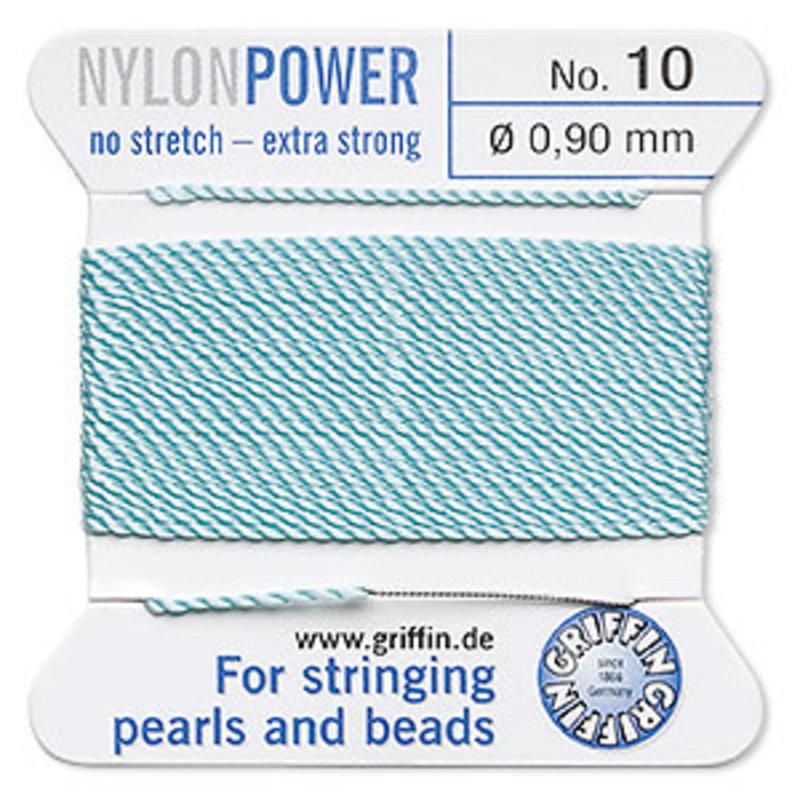 Nylon Thread Thread Nylon Turquoise #10 2Yrd