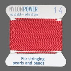 Nylon Thread Thread Nylon Red #14 2Yrds