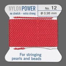 Nylon Thread Thread Nylon Red #12 2Yd