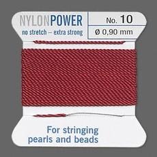 Nylon Thread Thread Nylon Garnet Red #10 2Yd