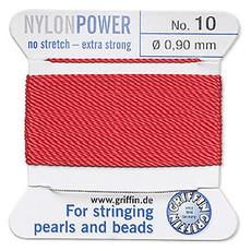Nylon Thread Thread Nylon Red #10 2Yd