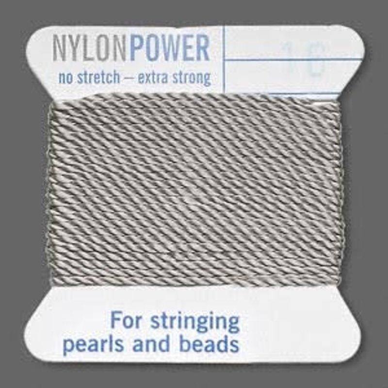 Nylon Thread Thread Nylon Grey #16 2Yd