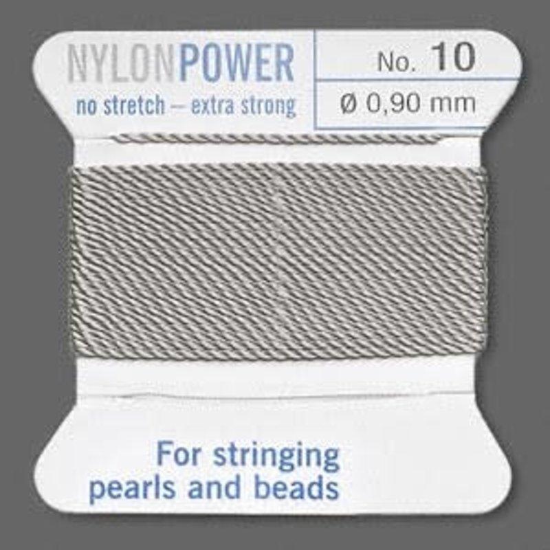Nylon Thread Thread Nylon Grey #10 2Yrds