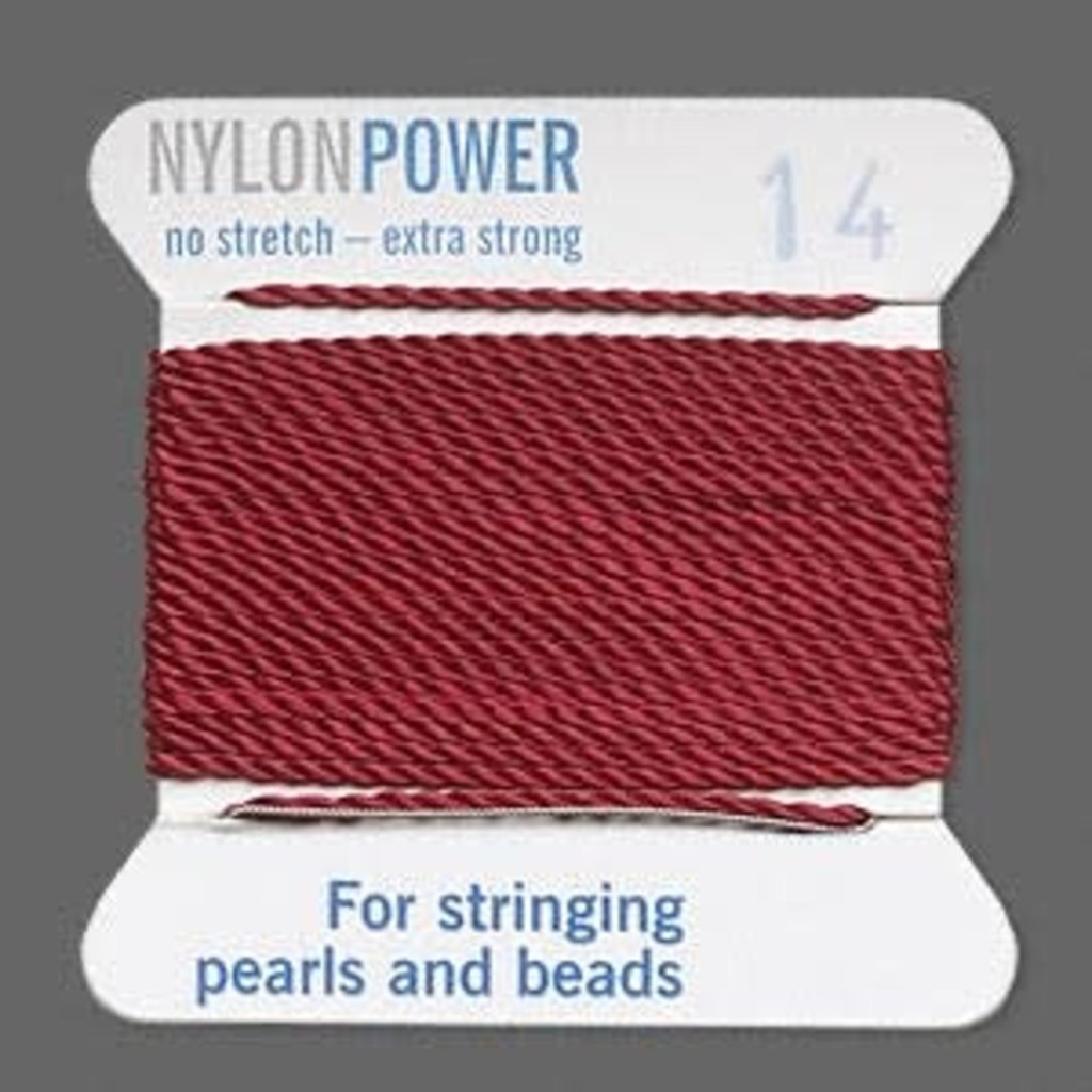 Nylon Thread Thread Nylon Garnet Red #14 2Yrds