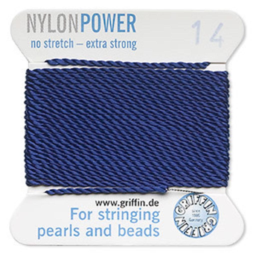 Nylon Thread Thread Nylon Dark Blue #12 2Yd