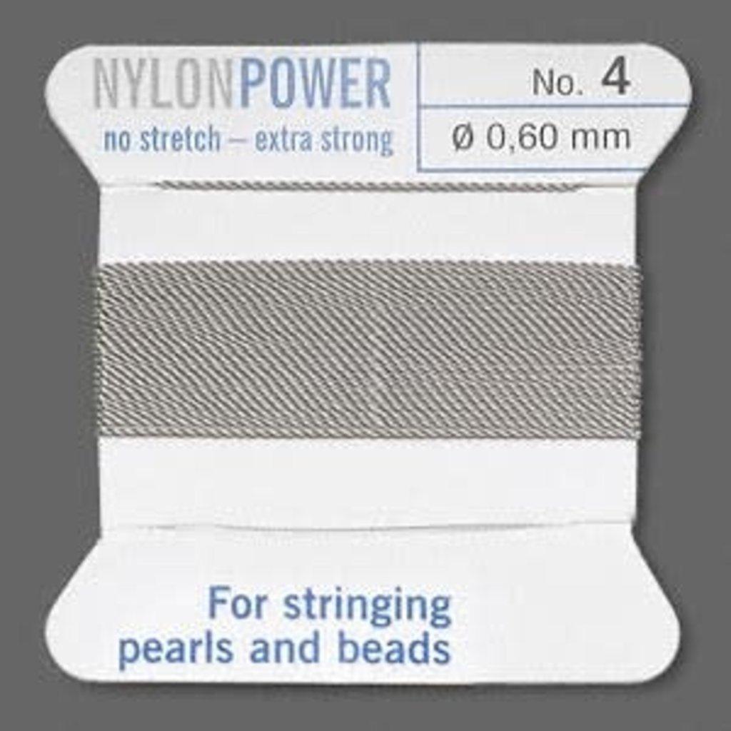 Nylon Thread Thread Nylon Grey #4 2Yd