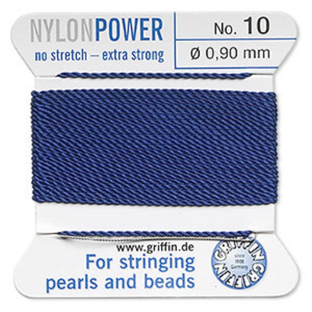 Nylon Thread Thread Nylon Dark Blue #10 2Yd