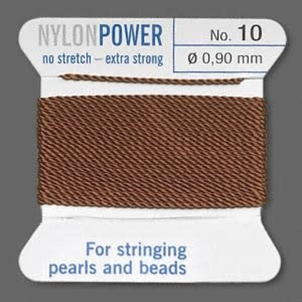 Nylon Thread Thread Nylon Brown #10 2Yrds