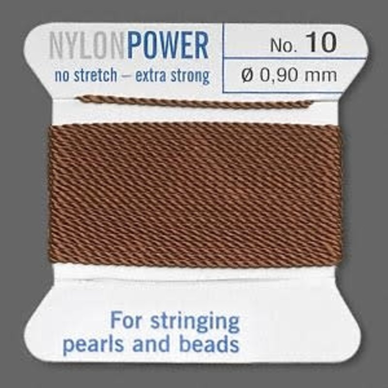 Nylon Thread Thread Nylon Brown #10 2Yrds
