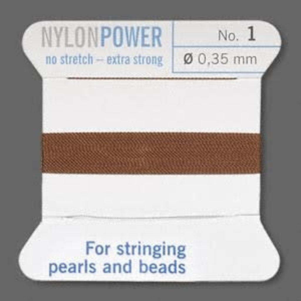 Nylon Thread Thread Nylon Brown #1 2Yrds