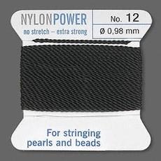 Nylon Thread Thread Nylon Black #12 2Yrds
