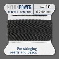 Nylon Thread Thread Nylon Black #10 2Yrds