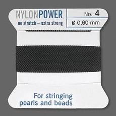 Nylon Thread Thread Nylon Black #4 2Yrds