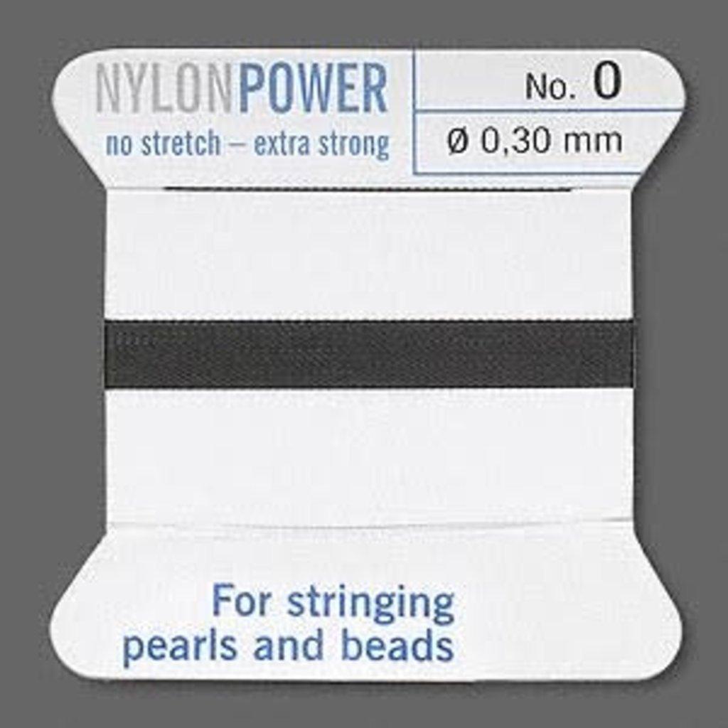 Nylon Thread Thread Nylon Black #0 2Yrds