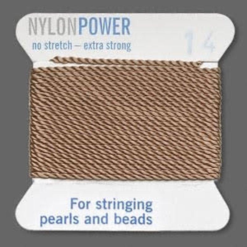Nylon Thread Thread Nylon Beige #14 2Yrds