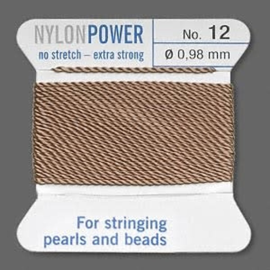 Nylon Thread Thread Nylon Beige #12 2Yrds