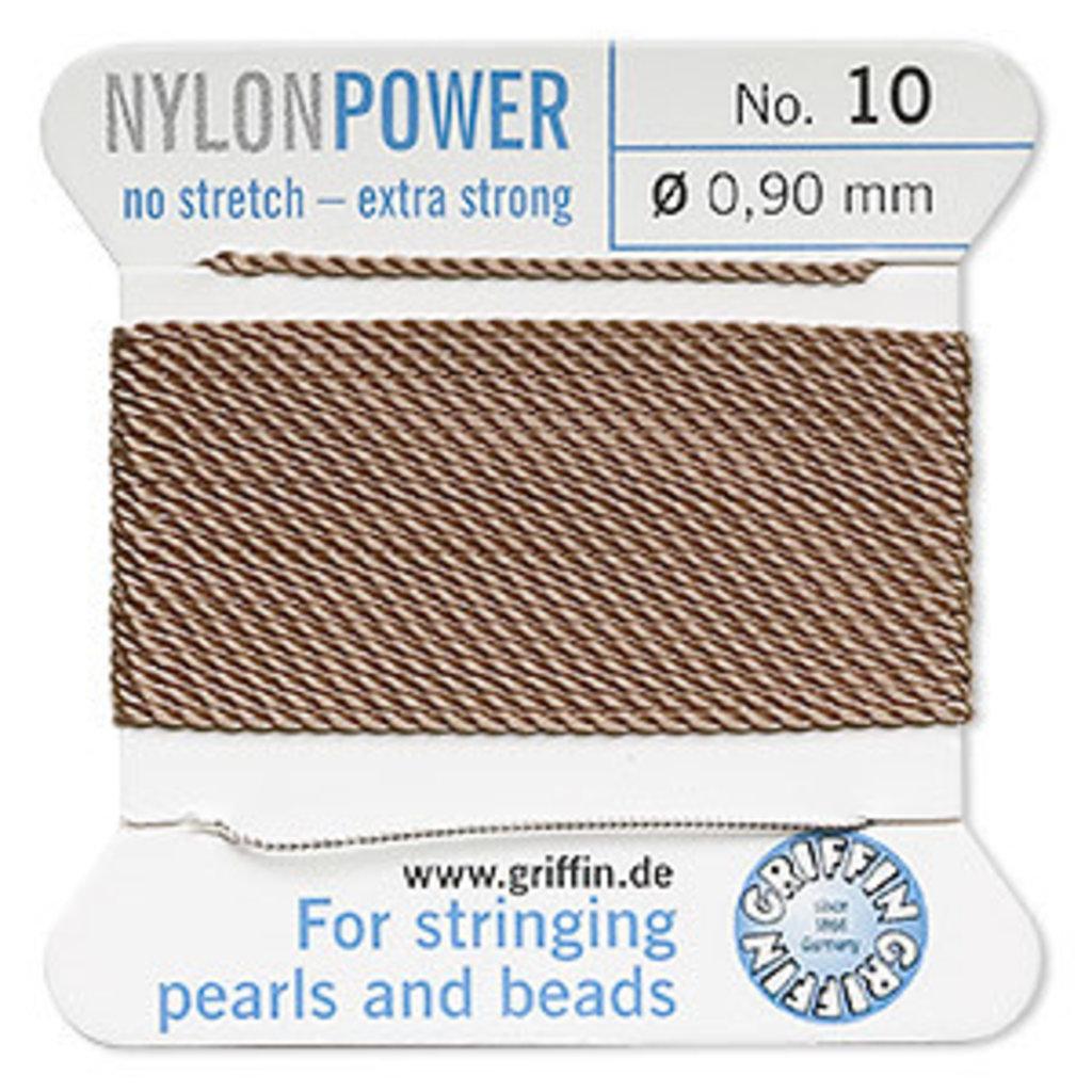 Nylon Thread Thread Nylon Beige #10 2Yrds