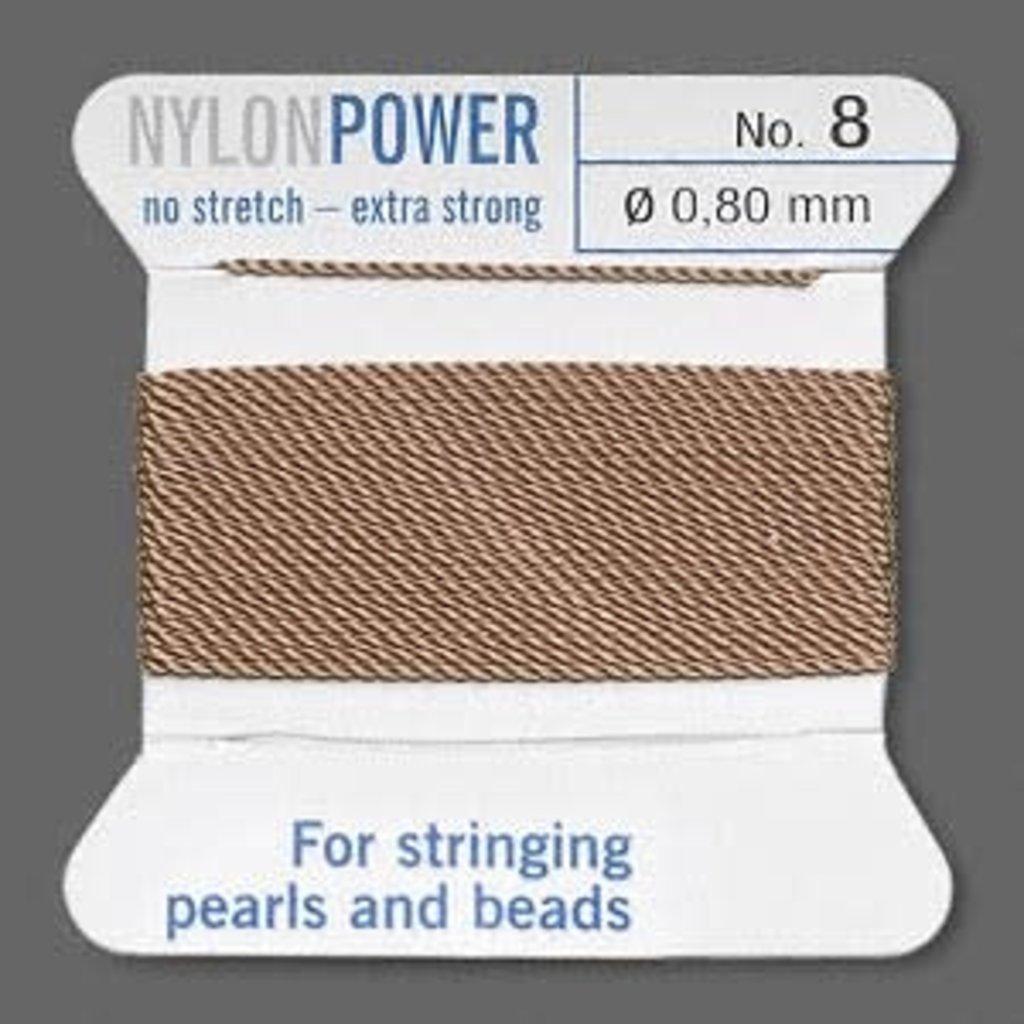 Nylon Thread Thread Nylon Beige #8 2Yrds
