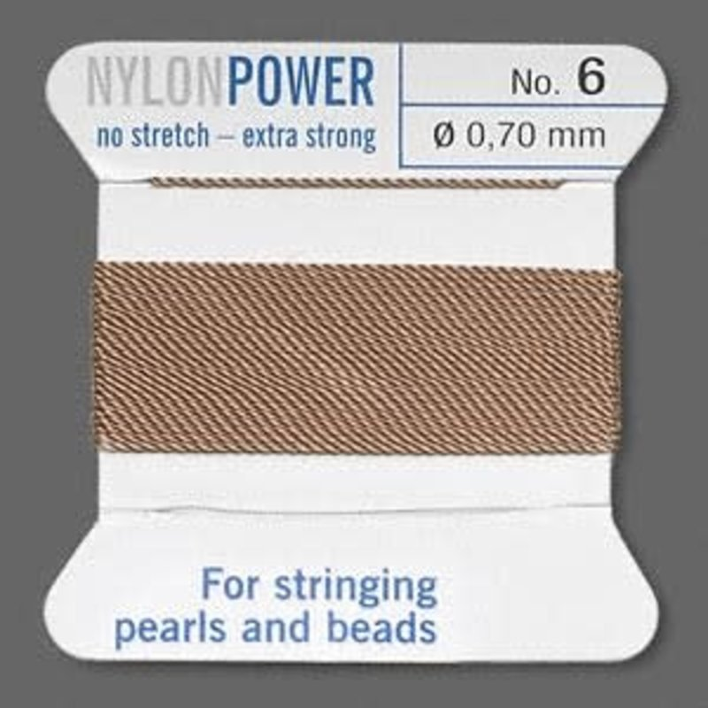 Nylon Thread Thread Nylon Beige #6 2Yrds