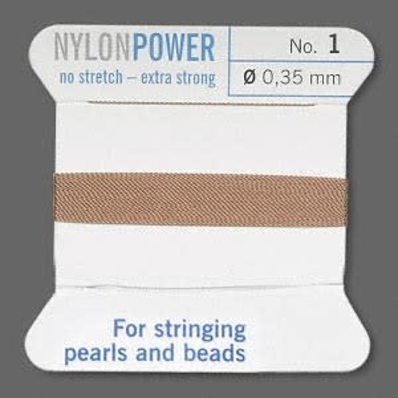 Nylon Thread Thread Nylon Beige #1 2Yrds