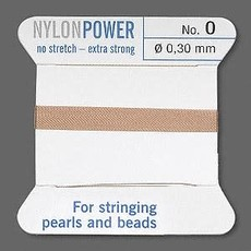 Nylon Thread Thread Nylon Beige #0 2Yrds