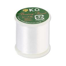 KO Thread Ko Thread Nylon White 55Yd 0.15mm diameter