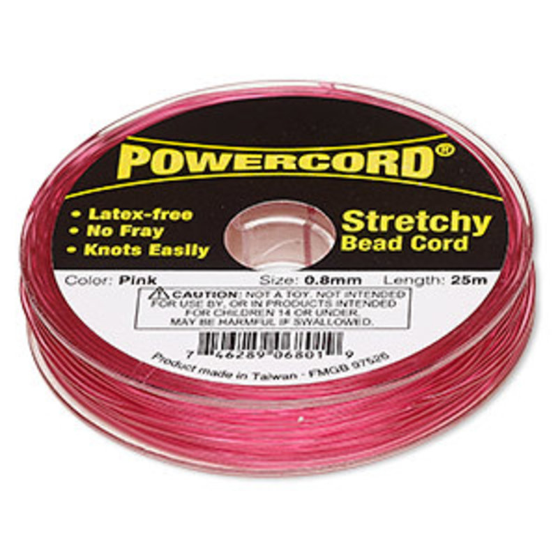 Powercord Powercord Pink 0.8Mm 25M