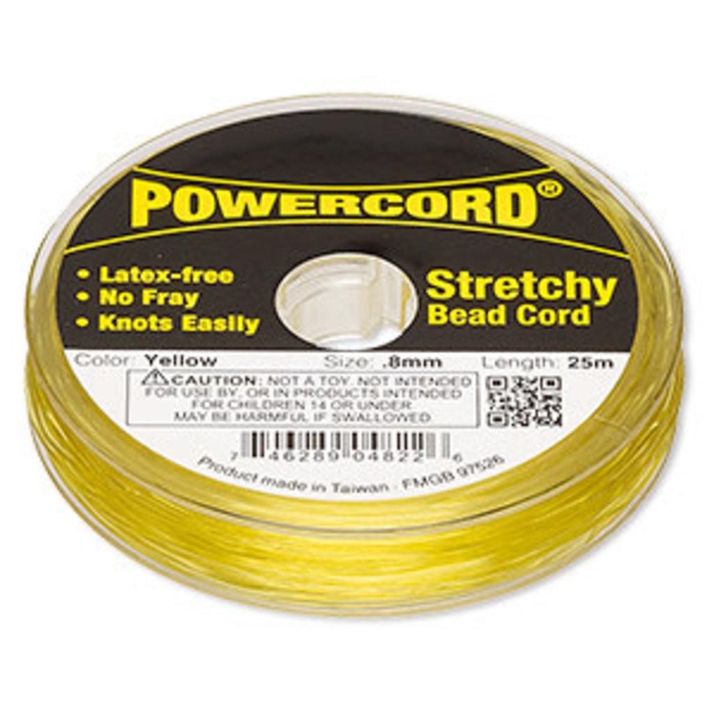 Powercord Powercord Yellow 0.8Mm 25M