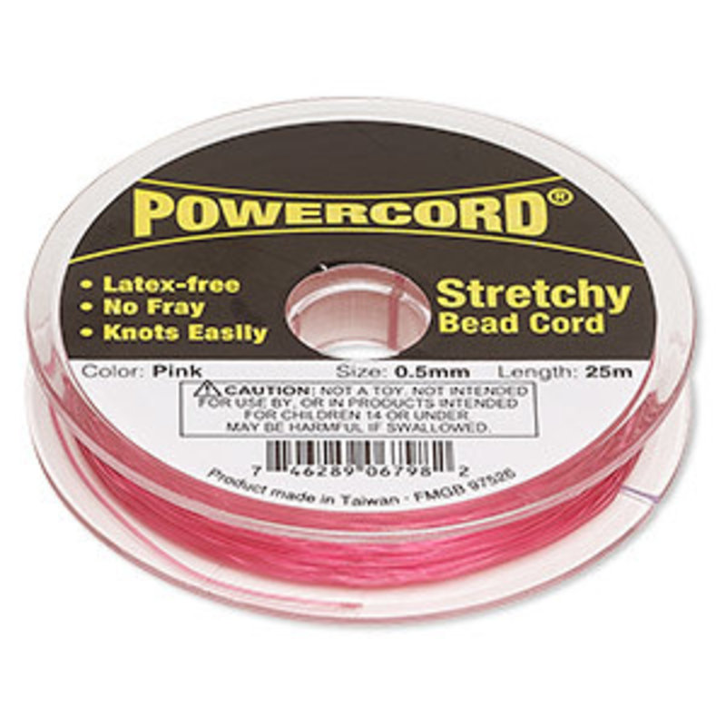 Powercord Powercord Pink 0.5Mm 25M