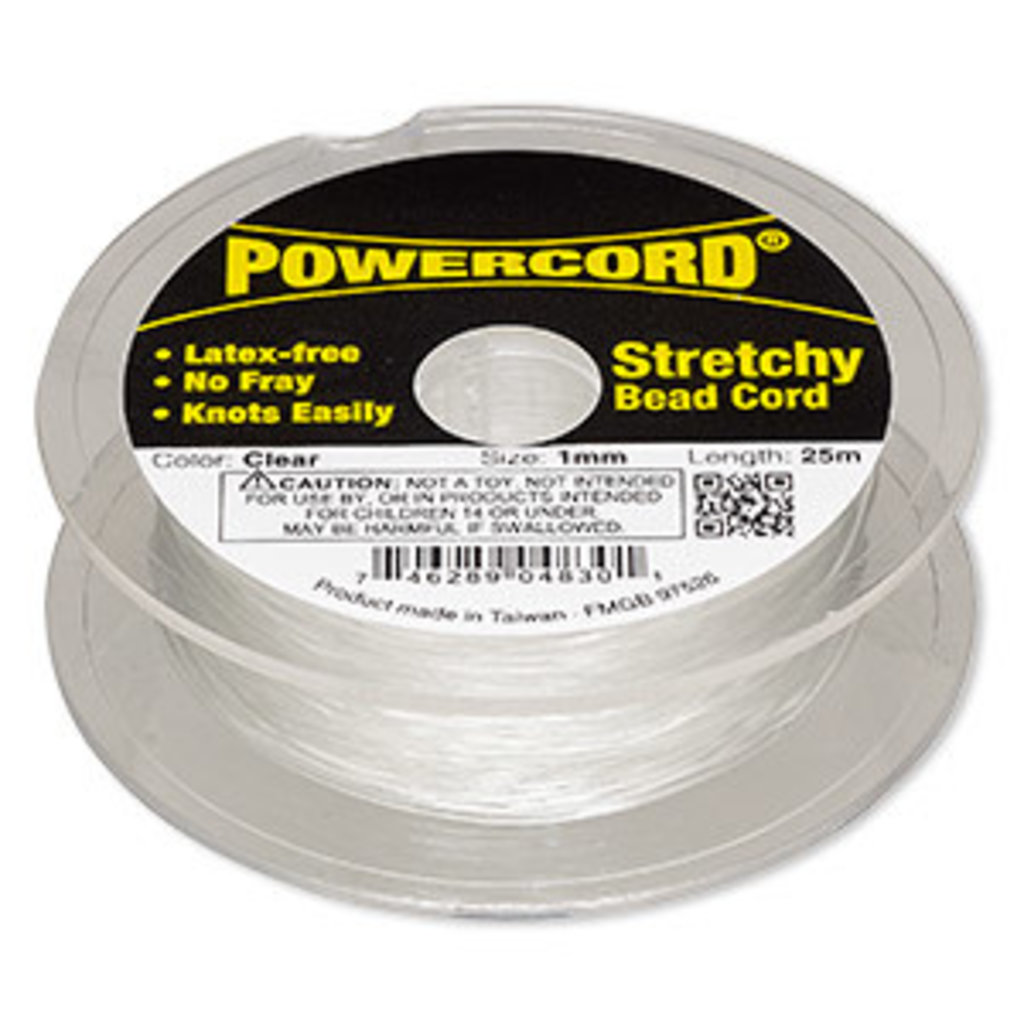 Powercord Powercord Clear 1Mm 25Mtrs