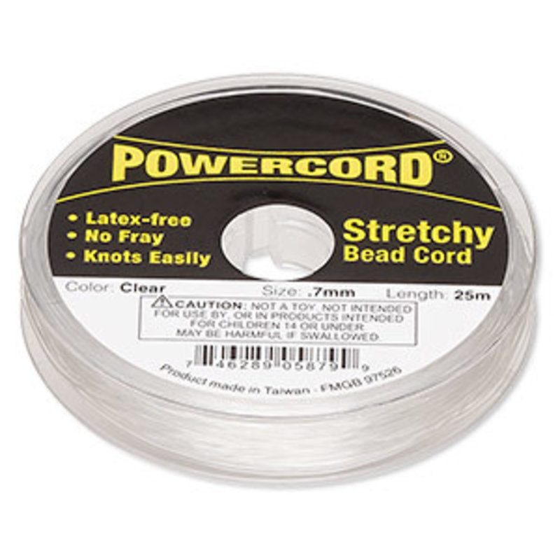 Powercord Powercord Clear 0.7Mm 25M