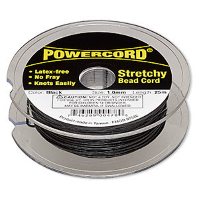 Powercord Powercord Black 1.0Mm 25Mtr