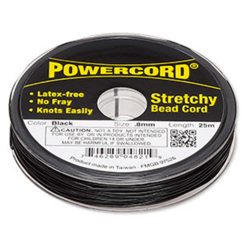 Powercord Powercord Black 0.8Mm 25M