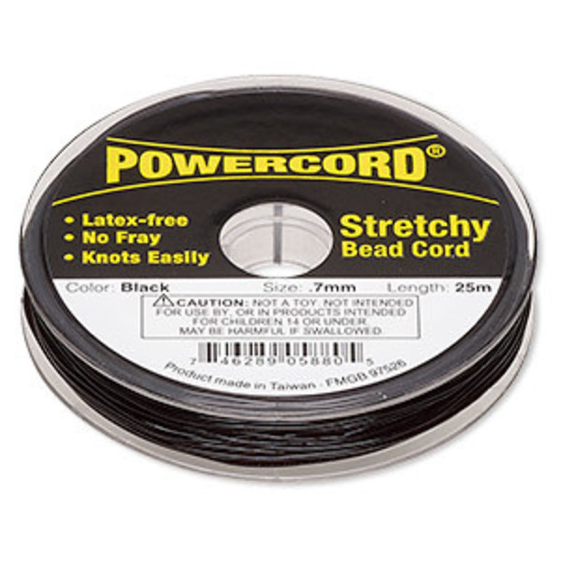 Powercord Powercord Black 0.7Mm 25M