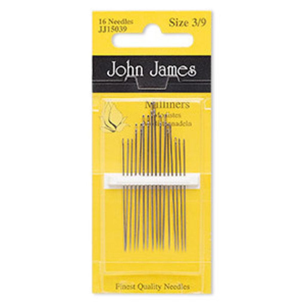 John James John James Needles #3-#9  16Pcs