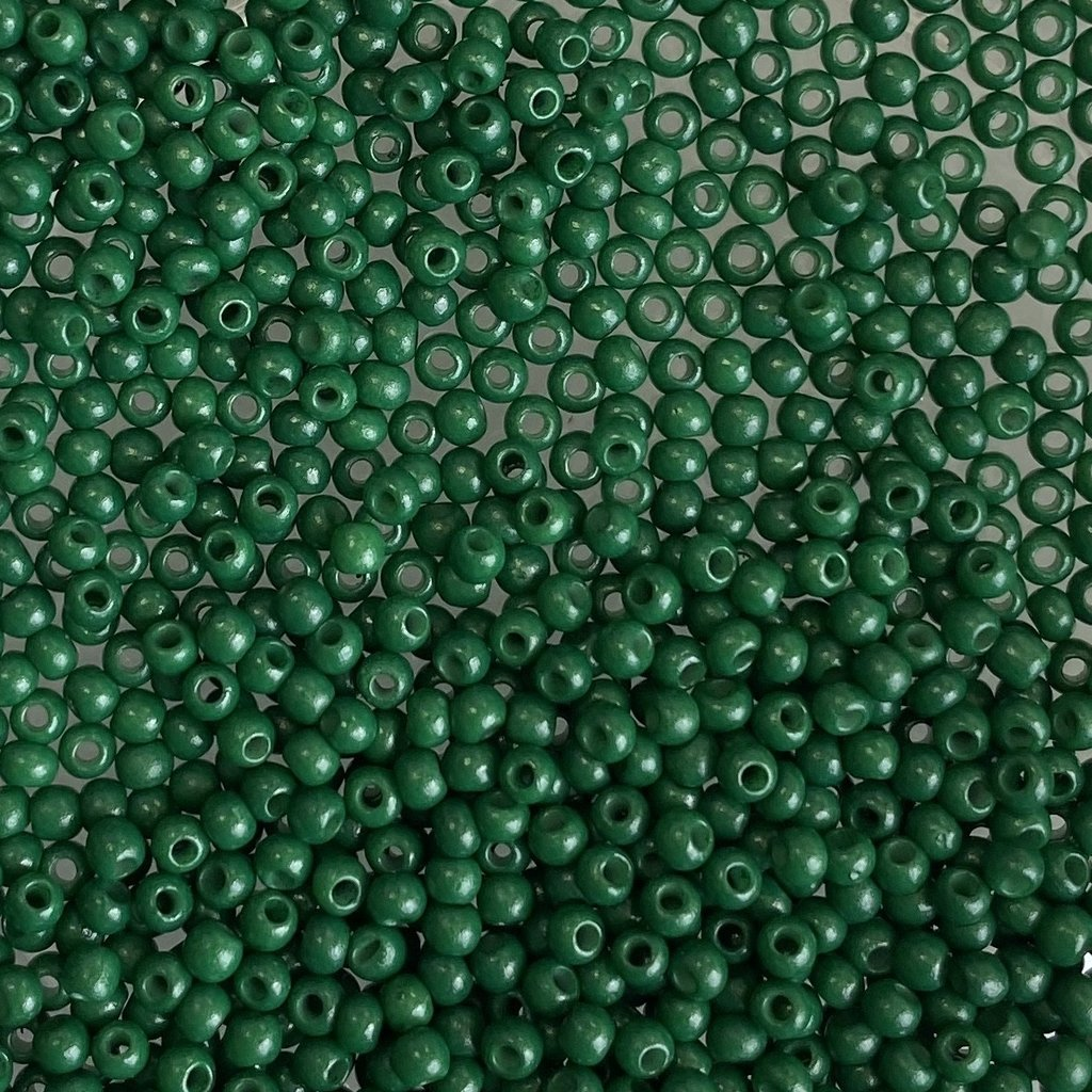 MJB #12  MJB Seed Beads   50gr  pkg  Green