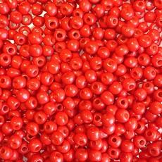 MJB #8  MJB  Seed Beads   50gr  package  Red