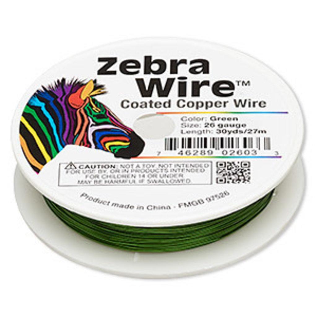 Zebra Wire Zebra Wire Green