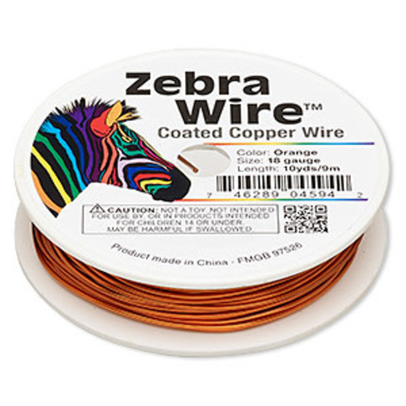 Zebra Wire Zebra Wire Orange