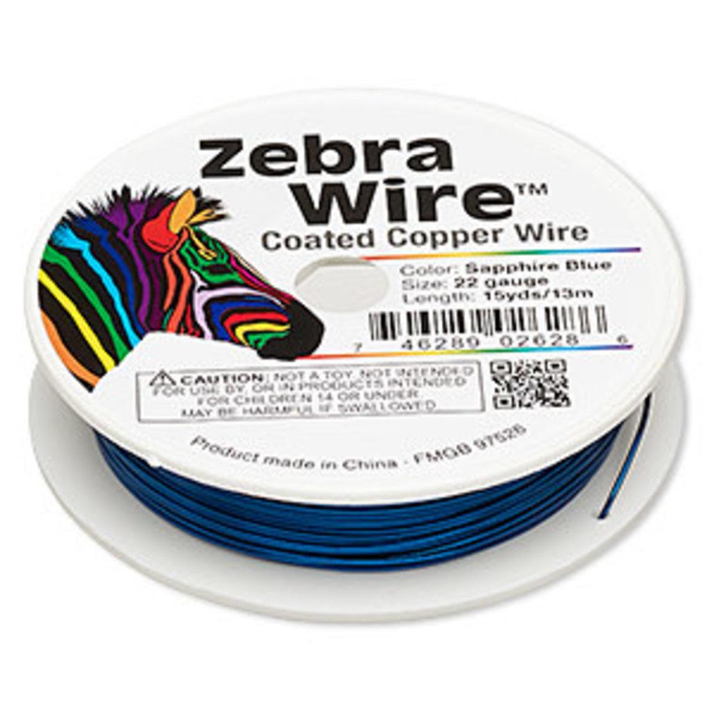 Zebra Wire Zebra Wire Sapphire Blue
