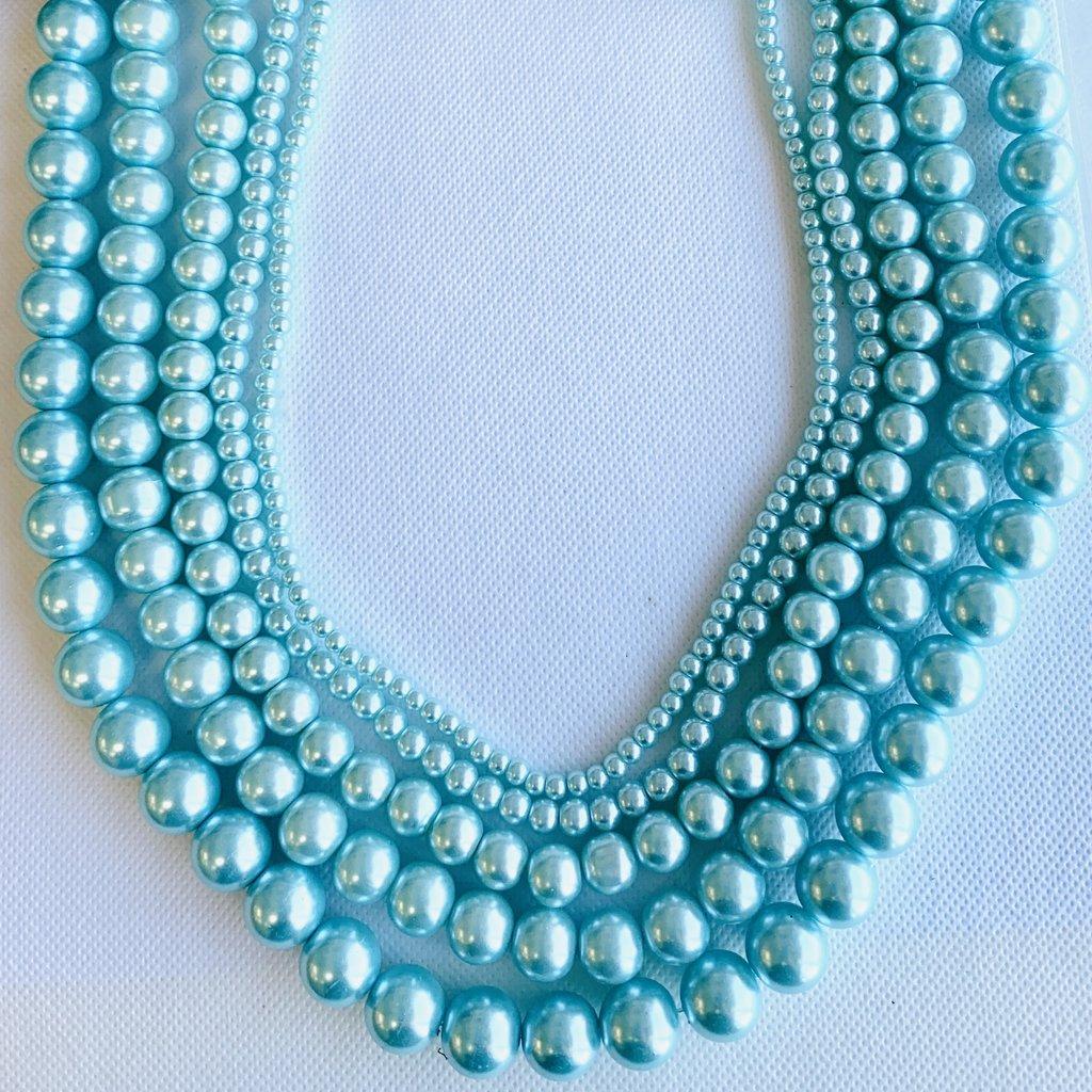 Glass Pearl Light Blue