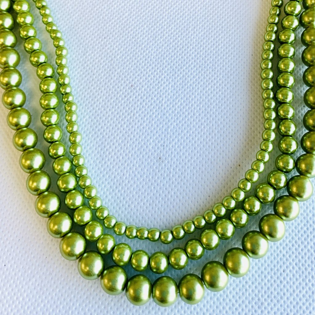 Glass Pearl Lime