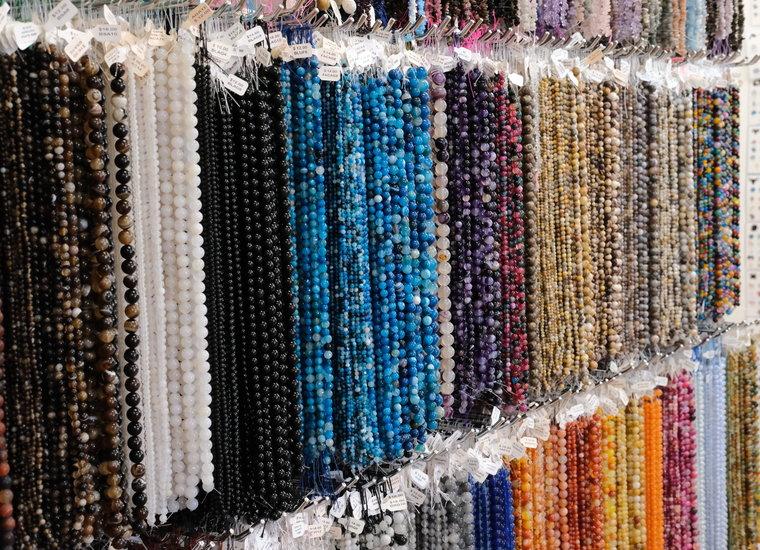 Semi-Precious Beads Round