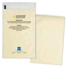 - Sunshine Polishing Cloth 7.75x5in