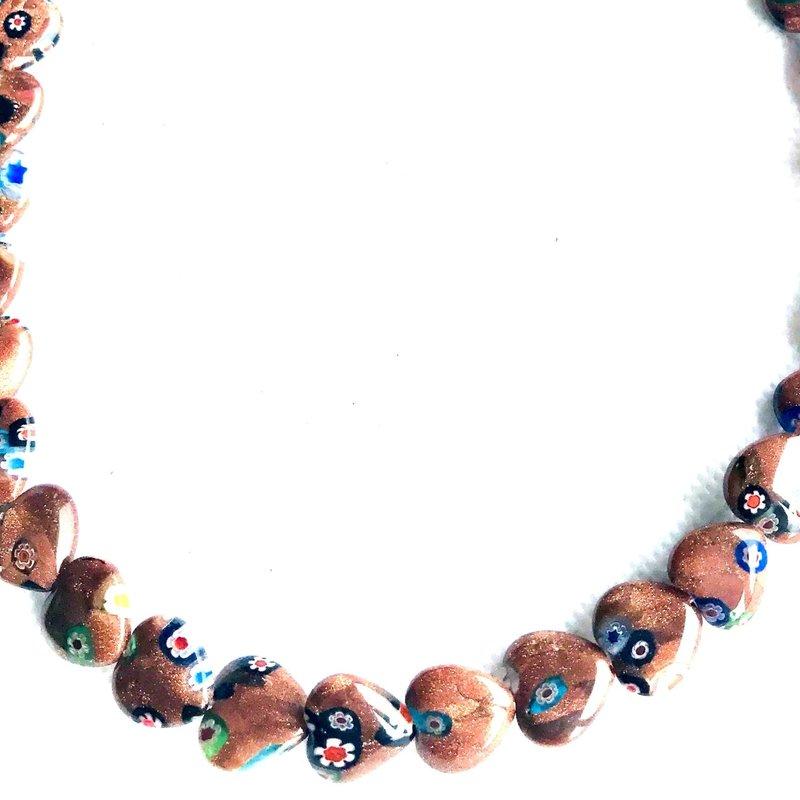 Bead World Lampwork Glass Beads  Heart  13x13mm  33pcs/strand