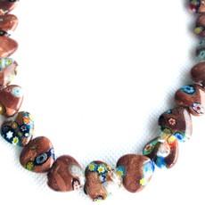 Bead World Lampwork Glass Beads  Heart  14x14mm  28pcs/strand