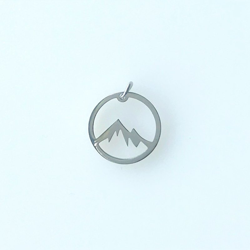 Bead World Mountain Hollow  Stainless Steel  12.5mm