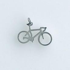 Bead World Bike  Stainless Steel  18x10mm