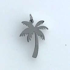 Bead World Palm Tree  Stainless Steel  18x14mm