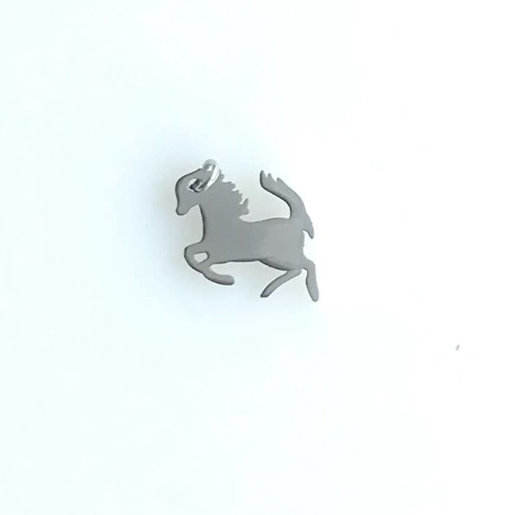 Bead World Horse  Stainless Steel  11.5x14.9mm